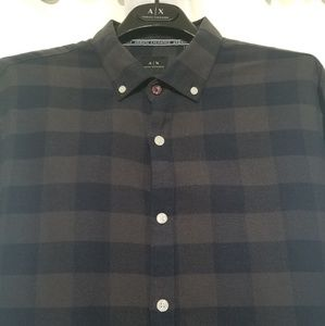 A/X Armani Exchange Navy/Gray Flannel